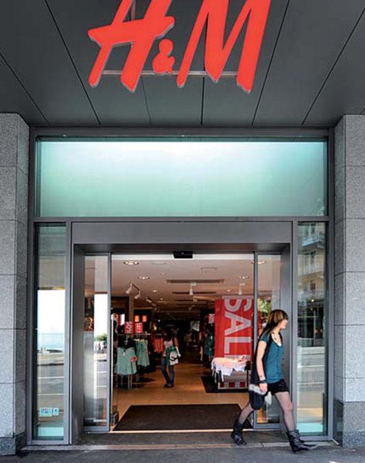 Magasin H&M, Montreux